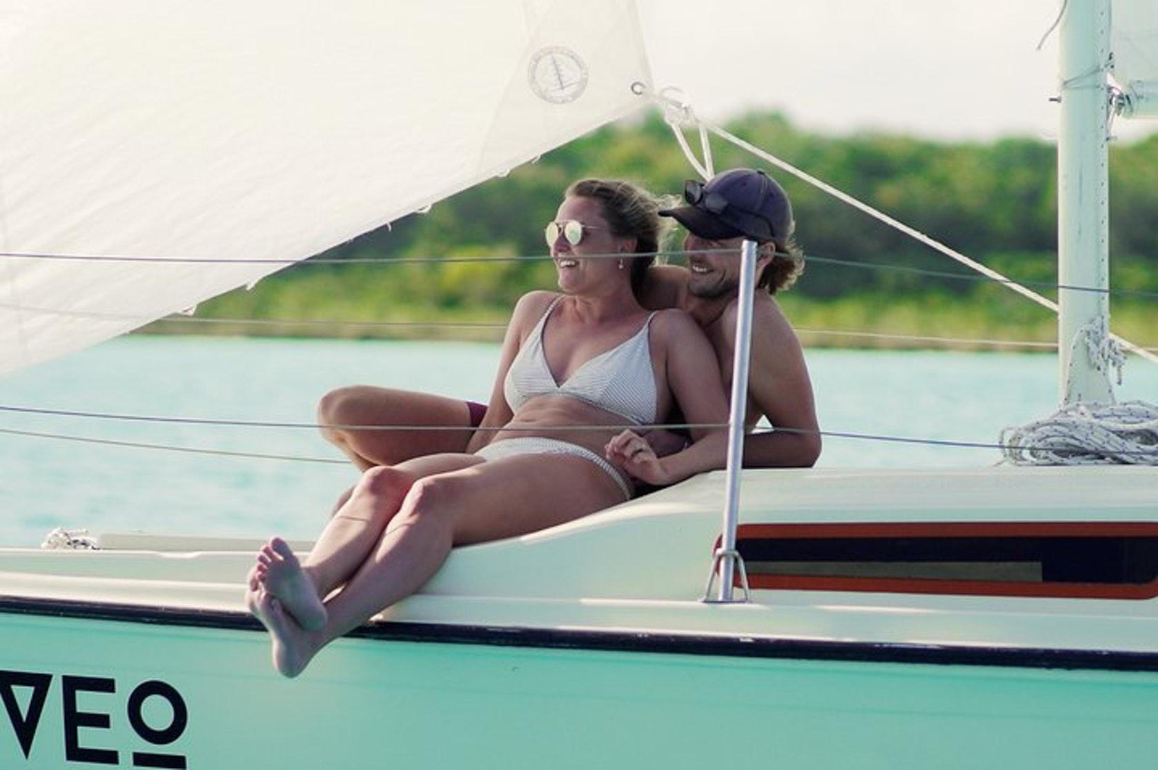 Private Sailboat + Optional Sailing Lesson