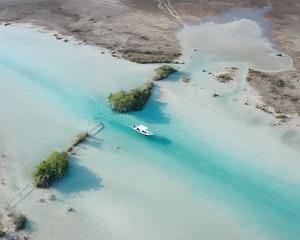 Tour en Eco-Barco y visita a cenotes